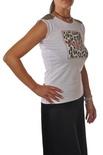 """Le Voliere """"t-shirt con stampa e applicazioni"""" T-shirts"""