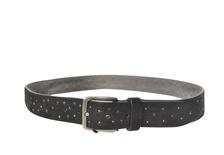 """Minoronzoni """"cintura scamosciata con borchiette"""" Cinture"""