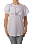 "Ki 6 ""t-shirt con balza e perle"" T-shirts"