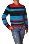 """Dondup """"maglia girocollo righe colori forti"""" Pullover"""