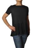 "Dondup ""t-shirt m/c con plisse sul fondo"" T-shirts"