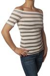 """Patrizia Pepe """"t-shirt m/c con scollo barca"""" Bluse"""