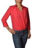 """Elisabetta Franchi """"camicia body con scollo a V"""" Camicia"""