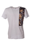 "Low Brand ""t-shirt con inserto di tessuto fantasia"" T-shirts"