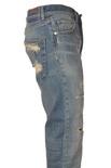 """Dondup """"jeans cavallo basso gamba dritta con rotture"""" Pantaloni"""