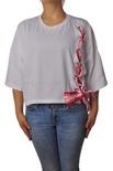 """Gaëlle Paris """"t-shirt con laccio in contrasto"""" T-shirts"""