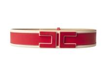 "Elisabetta Franchi ""cintura con logo centrale"" Cinture"