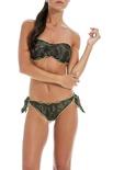 """F**K Project """"bikini fascia fantasia con bordi fluo"""" Bikini"""