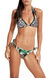 """F**K Project """"bikini triangolo laccio doppio"""" Bikini"""