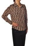 """Elisabetta Franchi """"camicia manica lunga logata"""" Camicia"""
