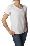"Patrizia Pepe ""t-shirt m/c con stampa e castoni"" T-shirts"