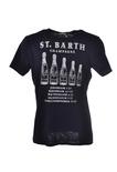 """Saint Barth """"T-SHIRT MAN"""" T-shirts"""