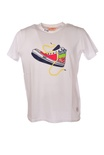 "Bob ""t-shirt ricamo scarpa ginnica"" T-shirts"