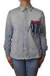 """Dondup """"camicia con dettaglio al taschino"""" Camice"""