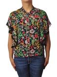 """Ottod'ame """"camicia fantasia fiori multicolor"""" Camicia"""
