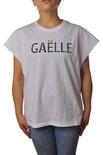 "Gaëlle Paris ""t-shirt con logo ricamato"" T-shirts"