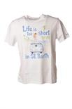 "Saint Barth ""TSHIRTMAN Life Short 01N"" T-shirts"