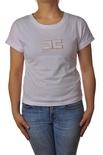 "Elisabetta Franchi ""t-shirt manica corta con logo"" T-shirts"