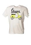 """Saint Barth """"TShirtMan VESPA OUTLINE01N"""" T-shirts"""