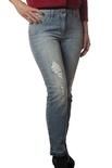 "Elisabetta Franchi ""jeans slavato skinny"" Pantaloni"