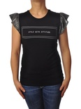 "Le Voliere ""t-shirt manica glitter"" T-shirts"