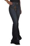 "Elisabetta Franchi ""jeans a zampa con sfrangiatura"" Pantaloni"