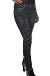 """Gaëlle Paris """"jeans slavato skinny"""" Pantaloni"""