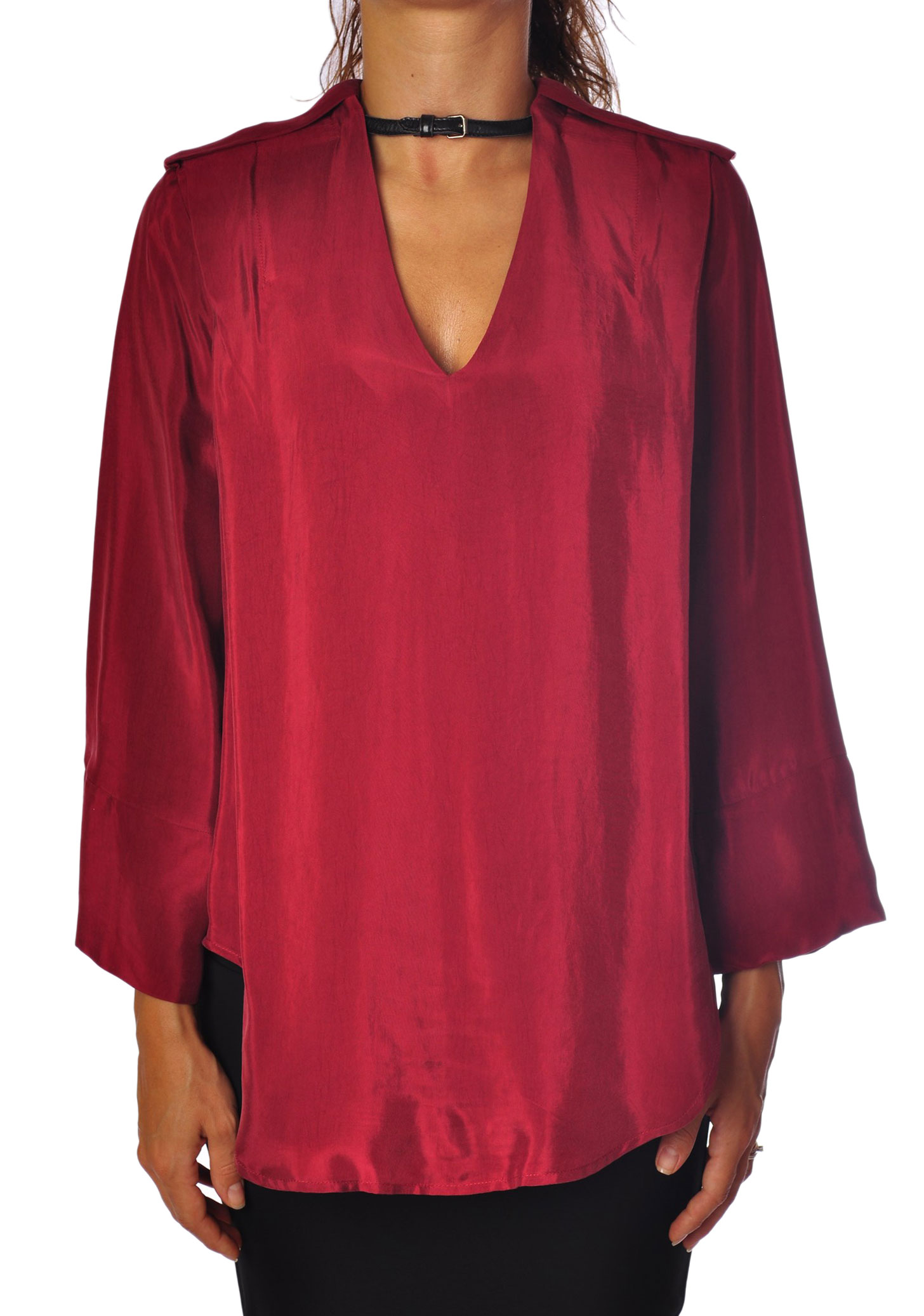 8pm  -  Blouses - Female - rot - 116424A183846