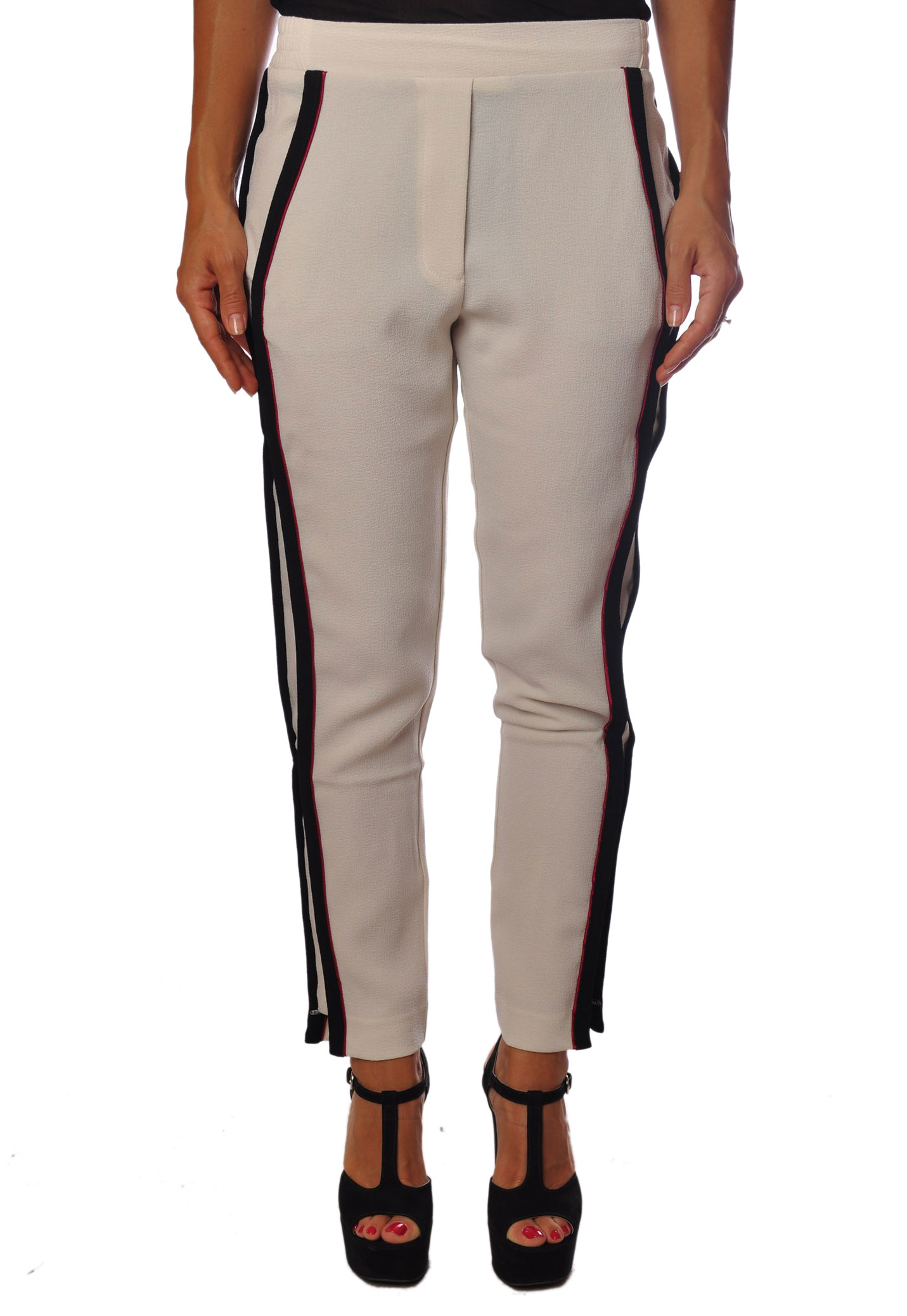 8pm  -  Pants - Female - White - 100124A183909