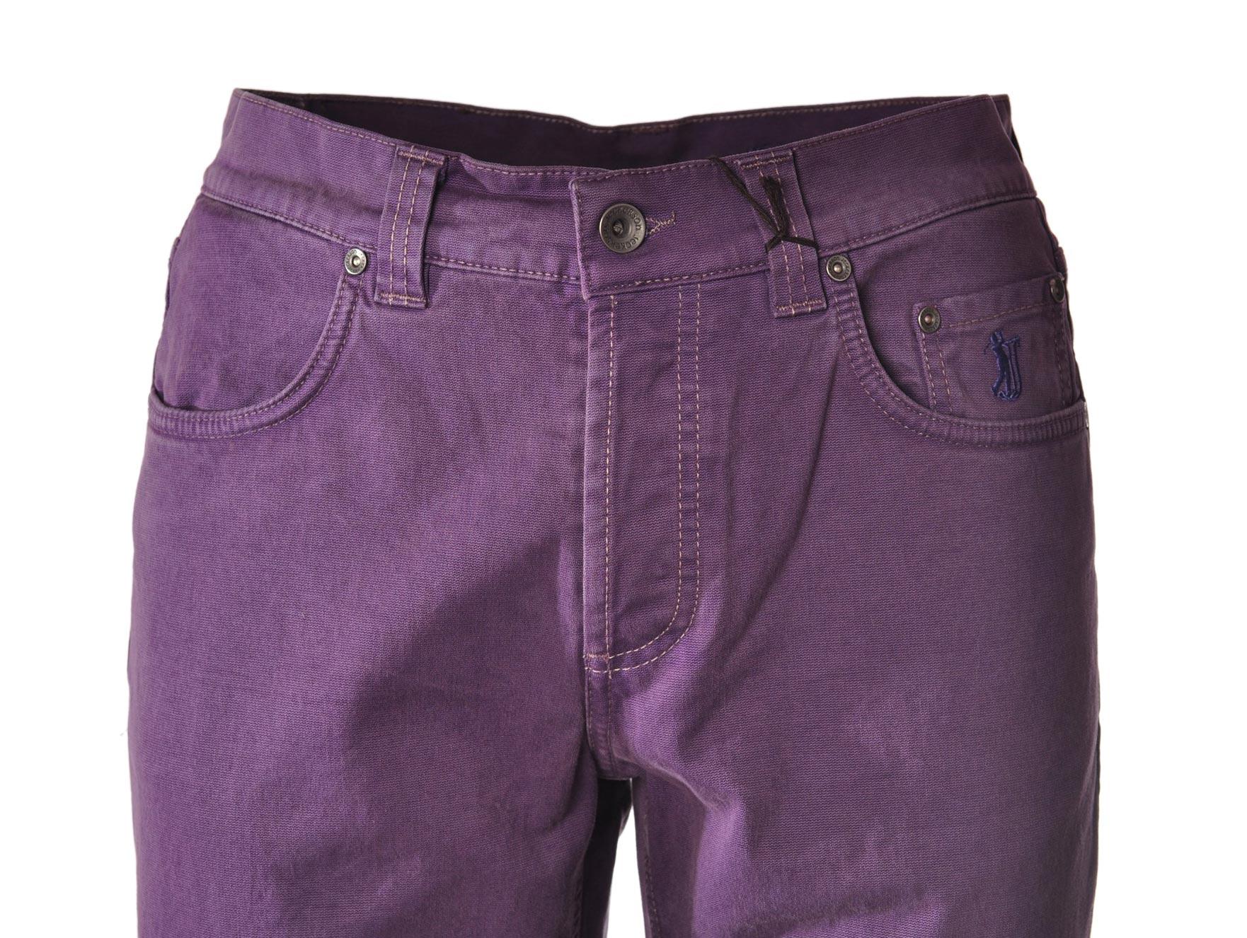 Uomo Viola Jeckerson 4111008C190512 Pantaloni-Pantaloni