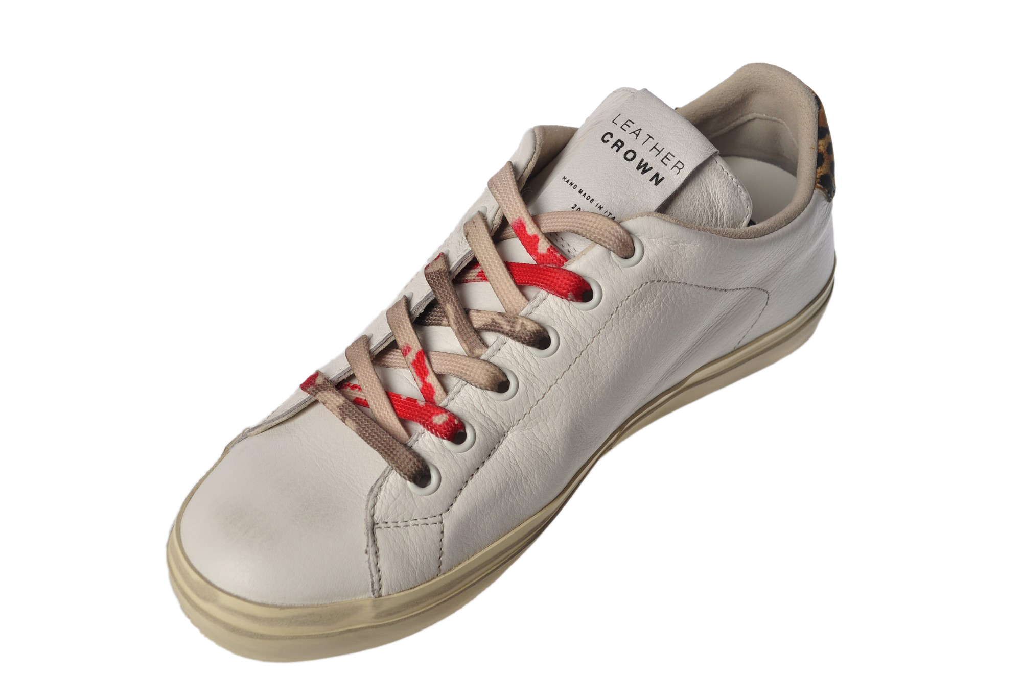 "Leather Crown ""sneackers con dettaglio maculato"" Sneakers"