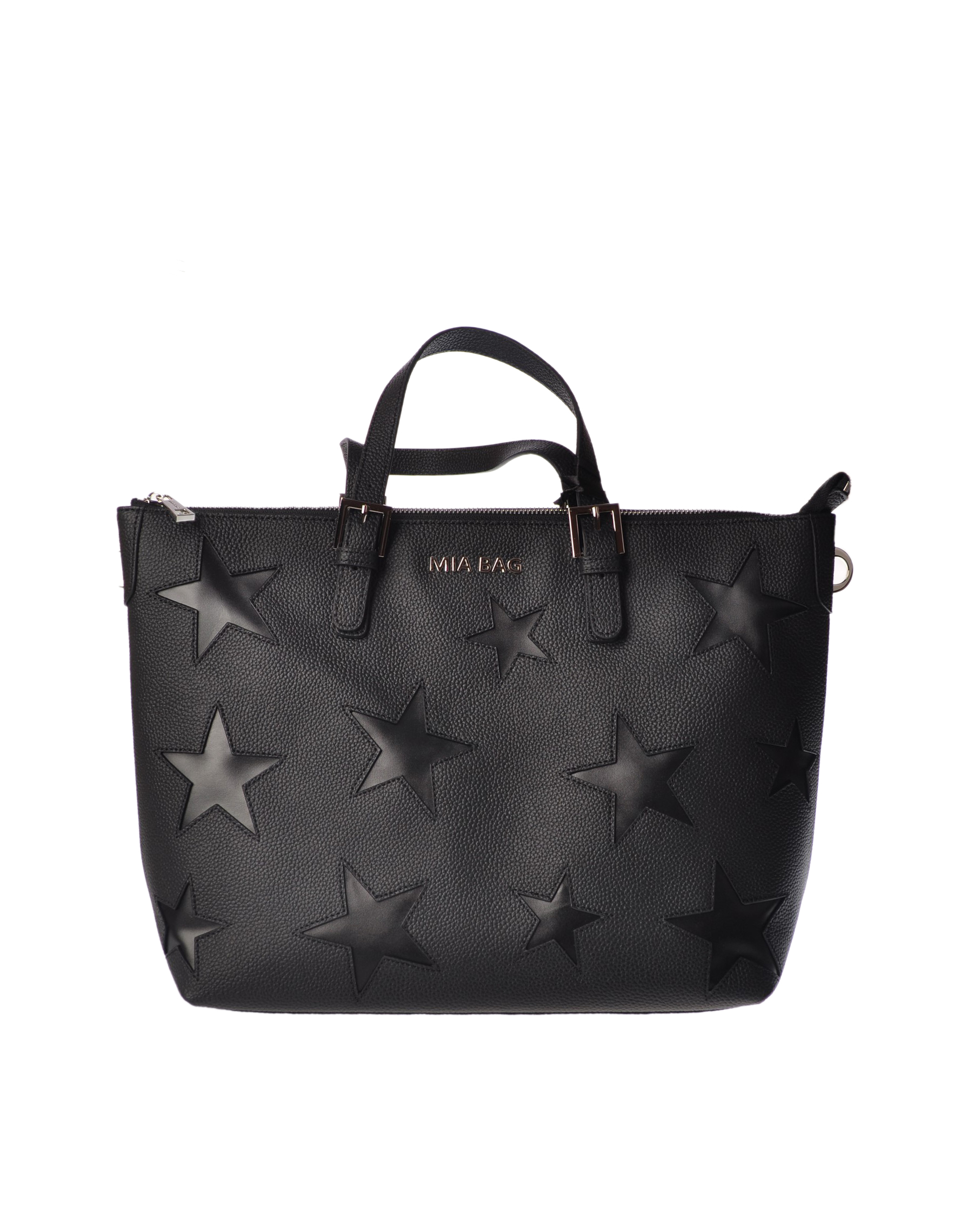 "Mia Bag ""Borsa shopping con stelle"" Borse"