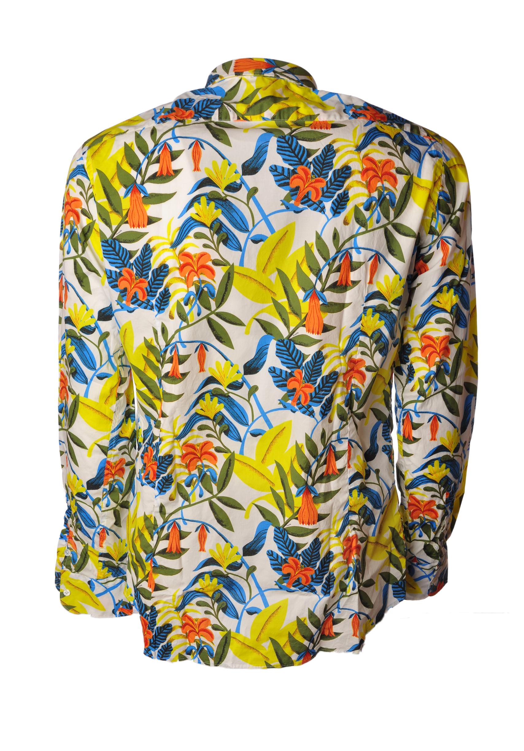"""Aglini """"camicia fantasia fiori multicolor"""" Camicia"""