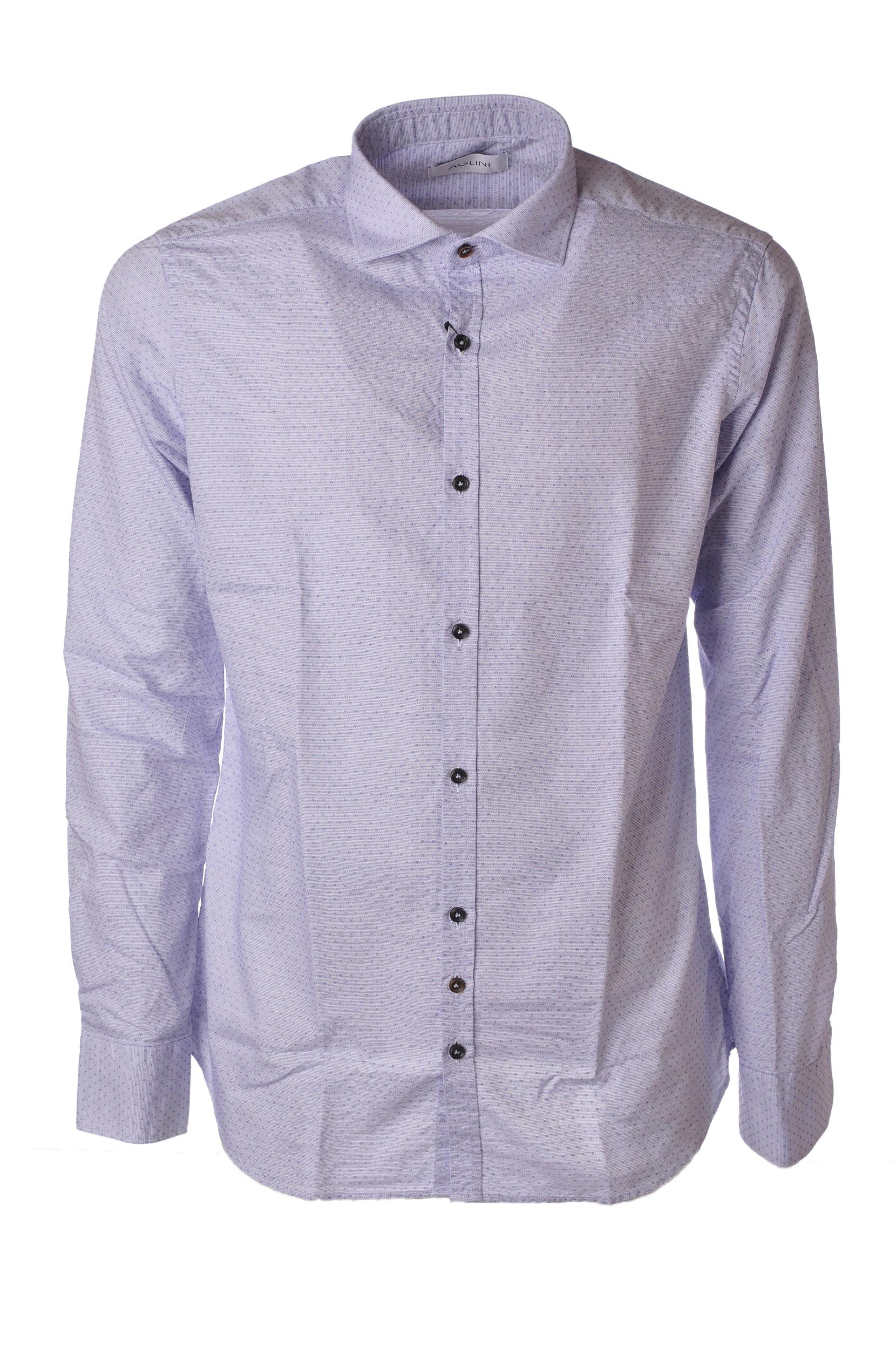 """Aglini """"camicia tessuto operato"""" Camicia"""