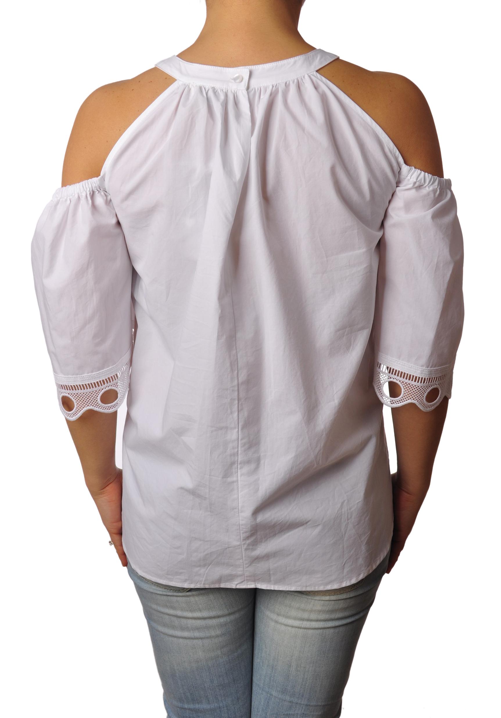 """Ottod'ame """"camicia con maniche lavorate"""" Camicia"""