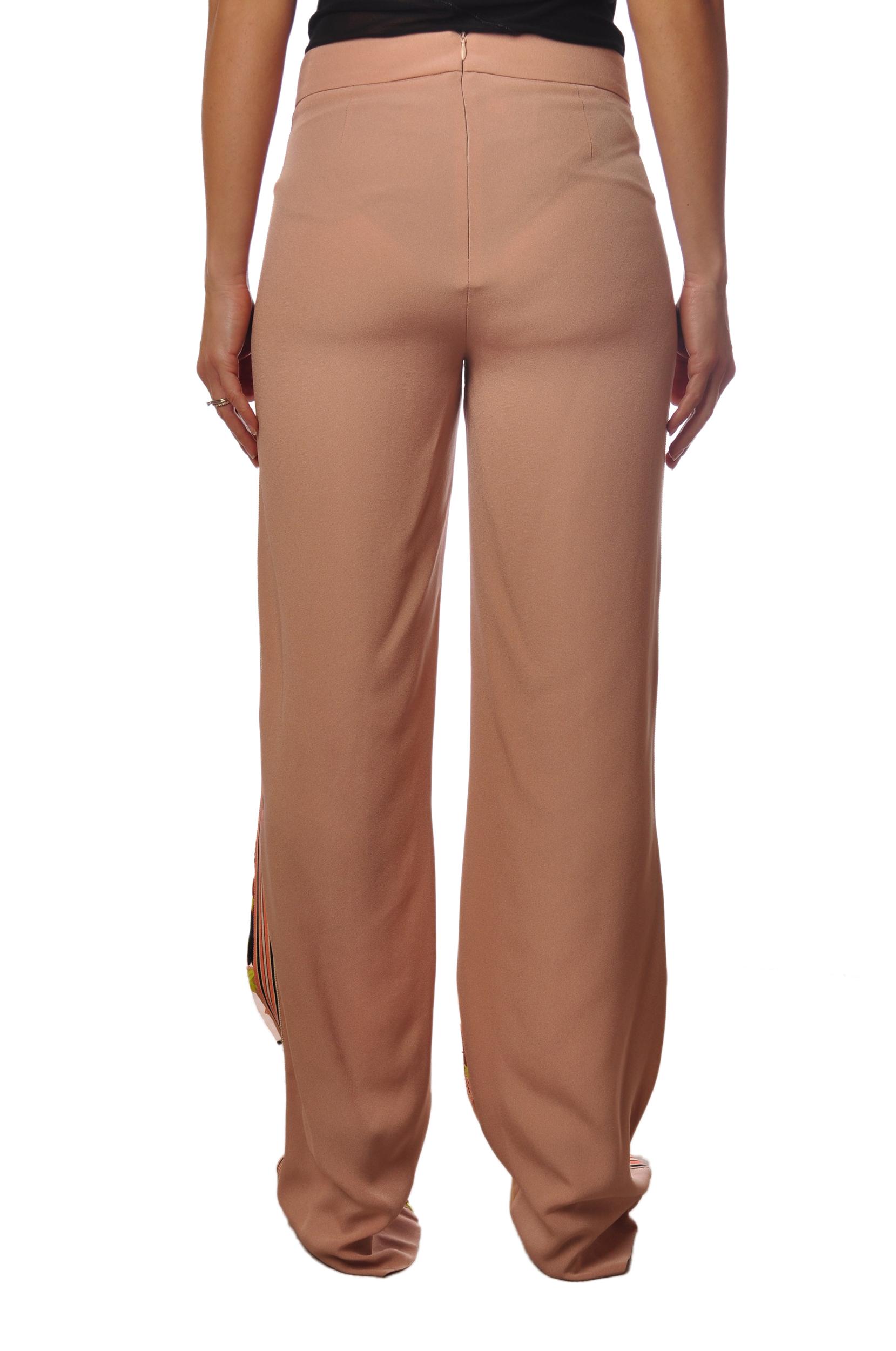 "Ki 6 ""pantalone con fantasia ricamata"" Pantaloni"