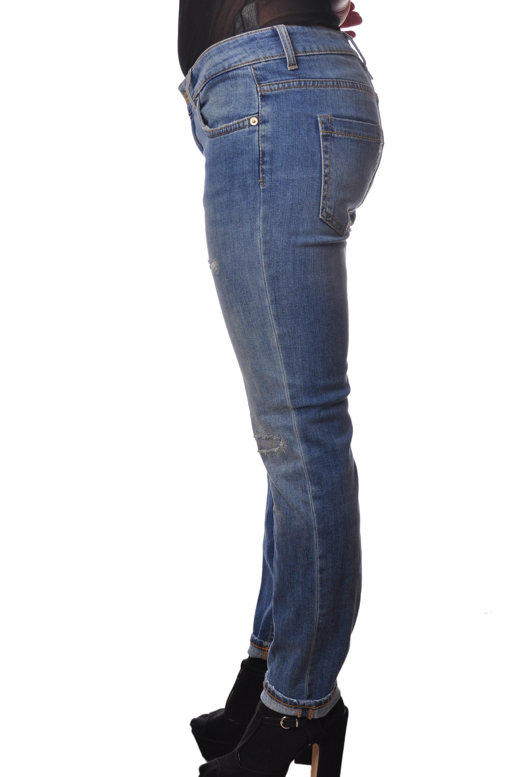 """Dondup """"jeans slavato vita regolare"""" Pantaloni"""
