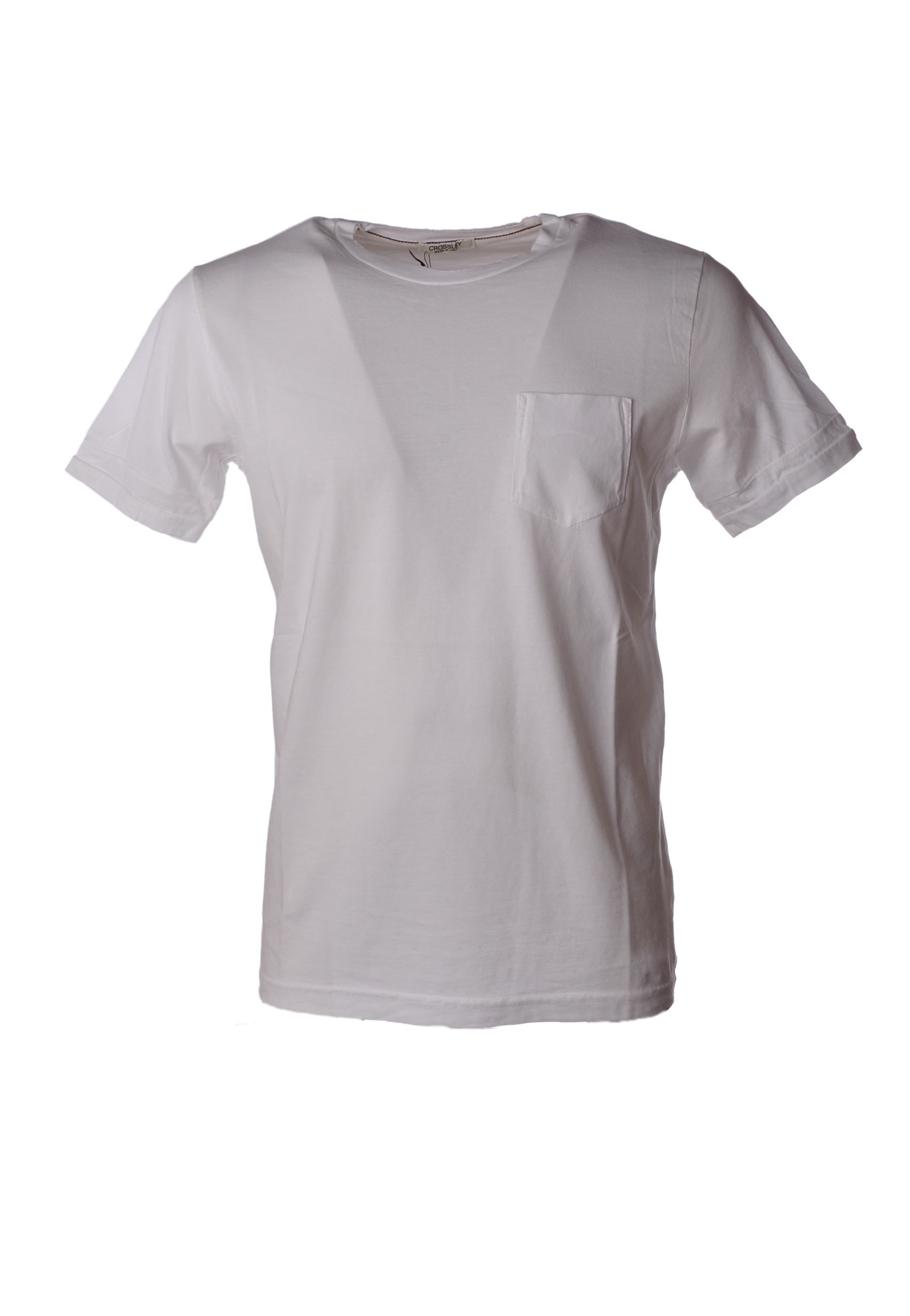 CROSSLEY - Topwear-T-hemds - Mann - Weiß - 5019529L184059