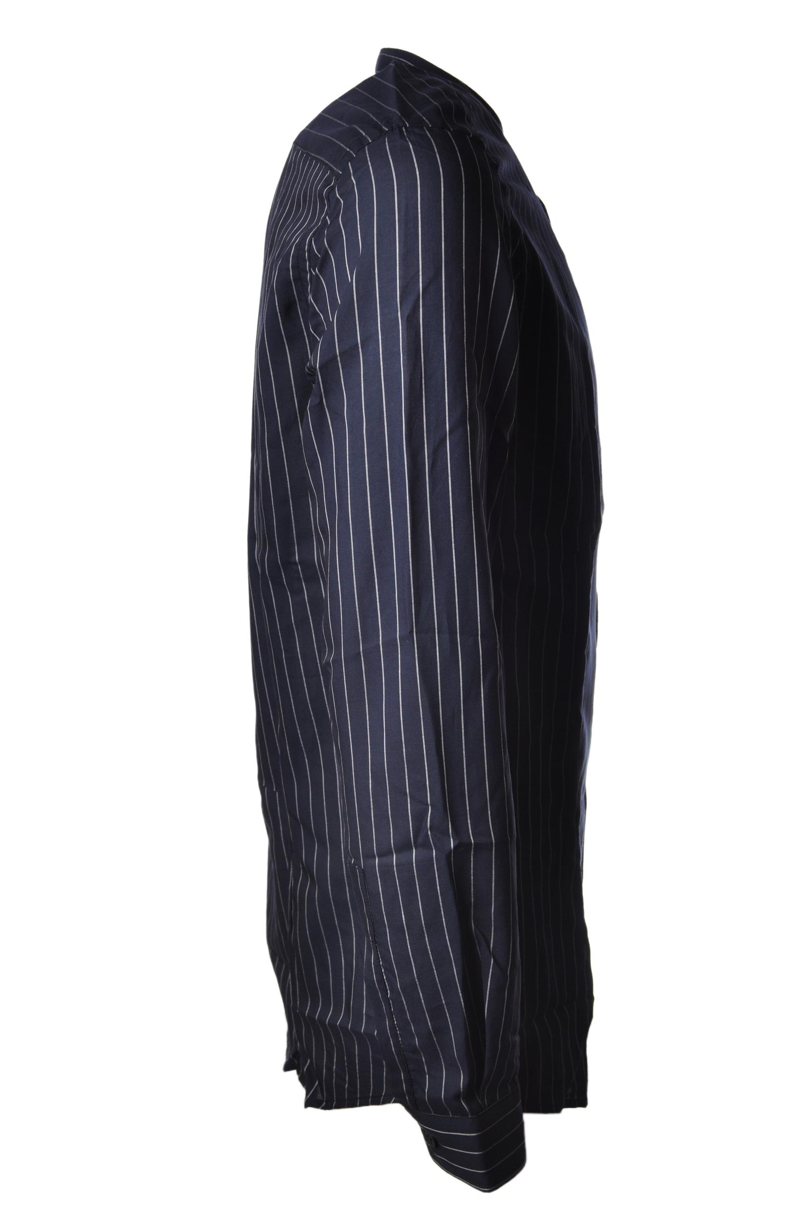 "Daniele Alessandrini ""camicia coreana gessata"" Camicia"