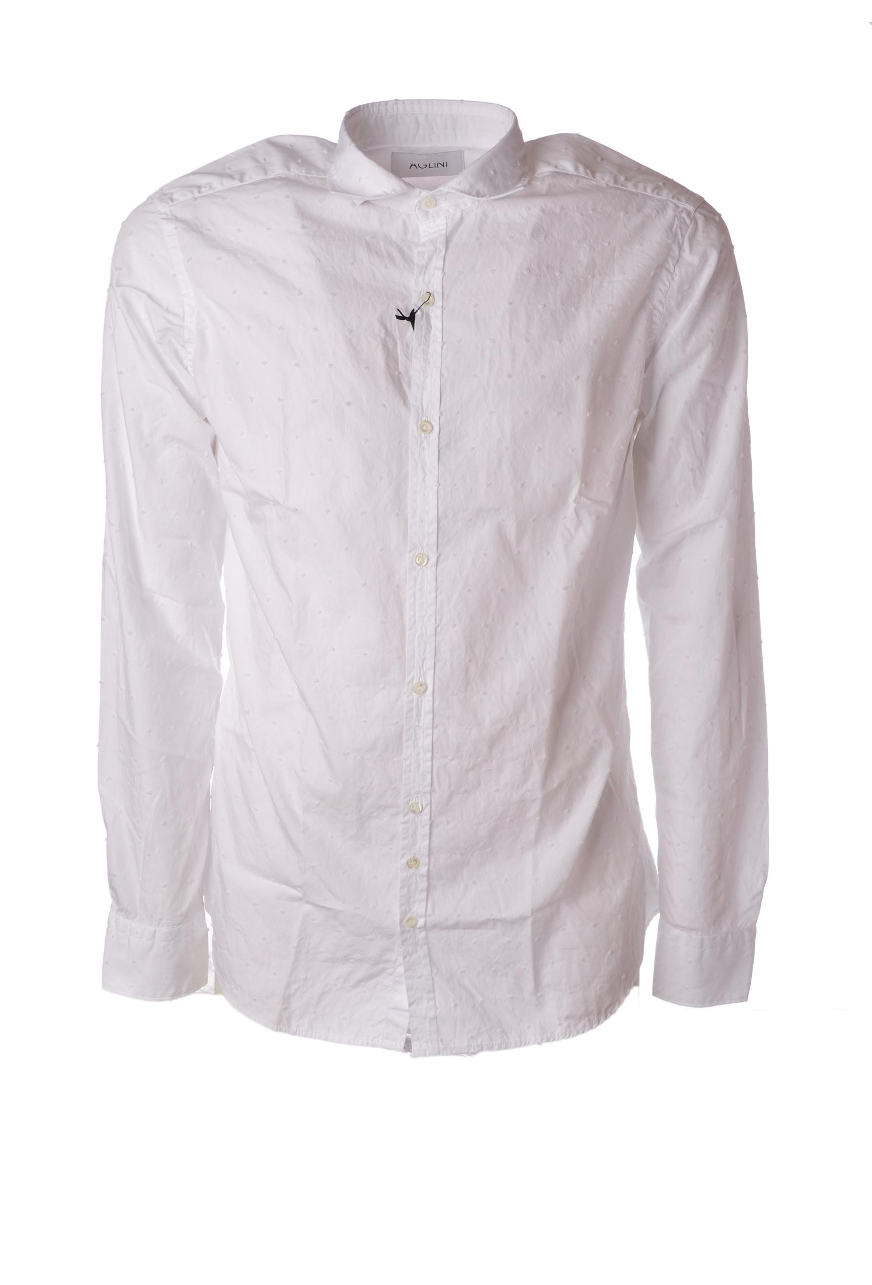 """Aglini """"camicia tessuto lavorato"""" Camicia"""