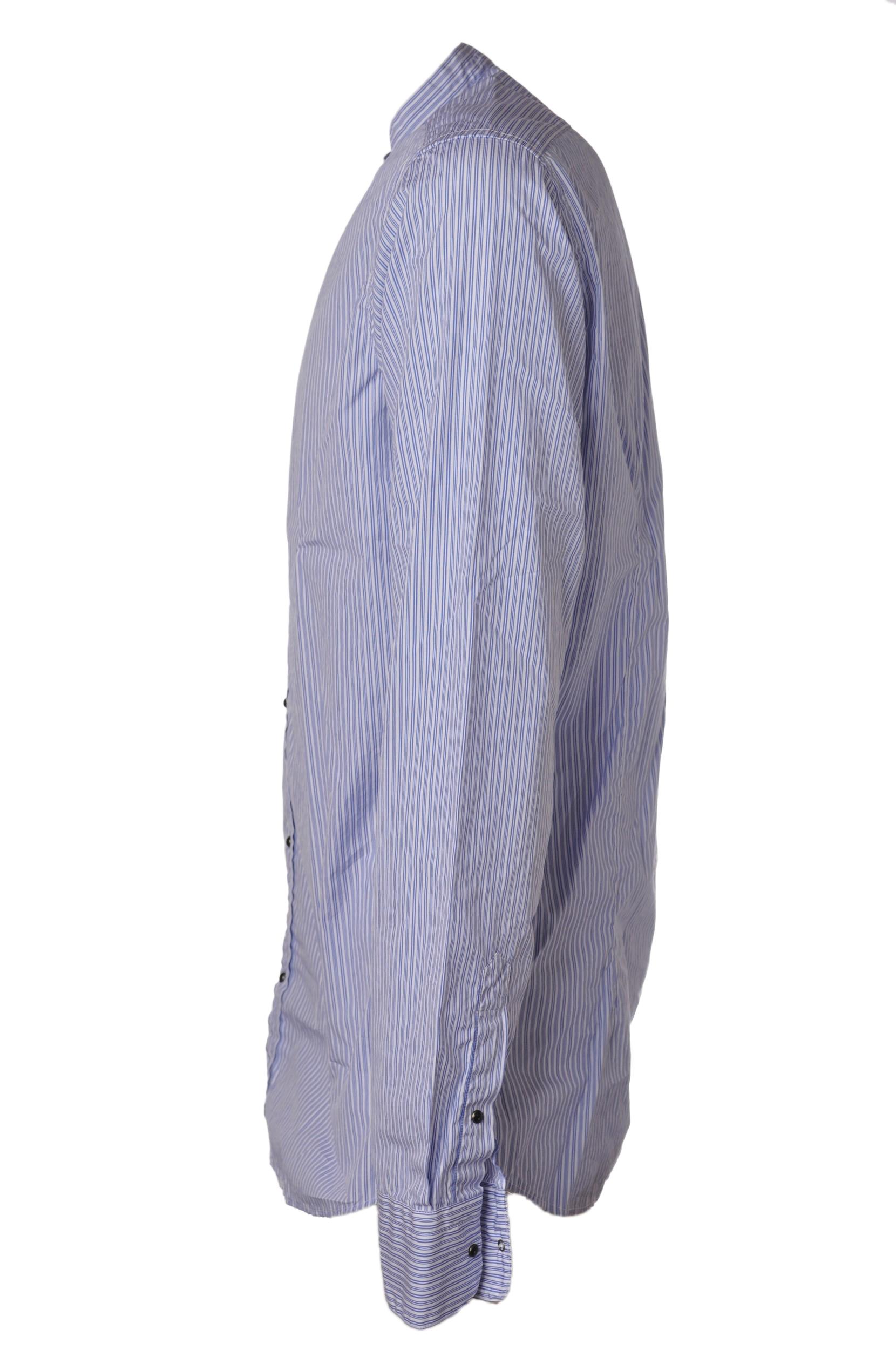 """Aglini """"camicia coreana gessata"""" Camicia"""