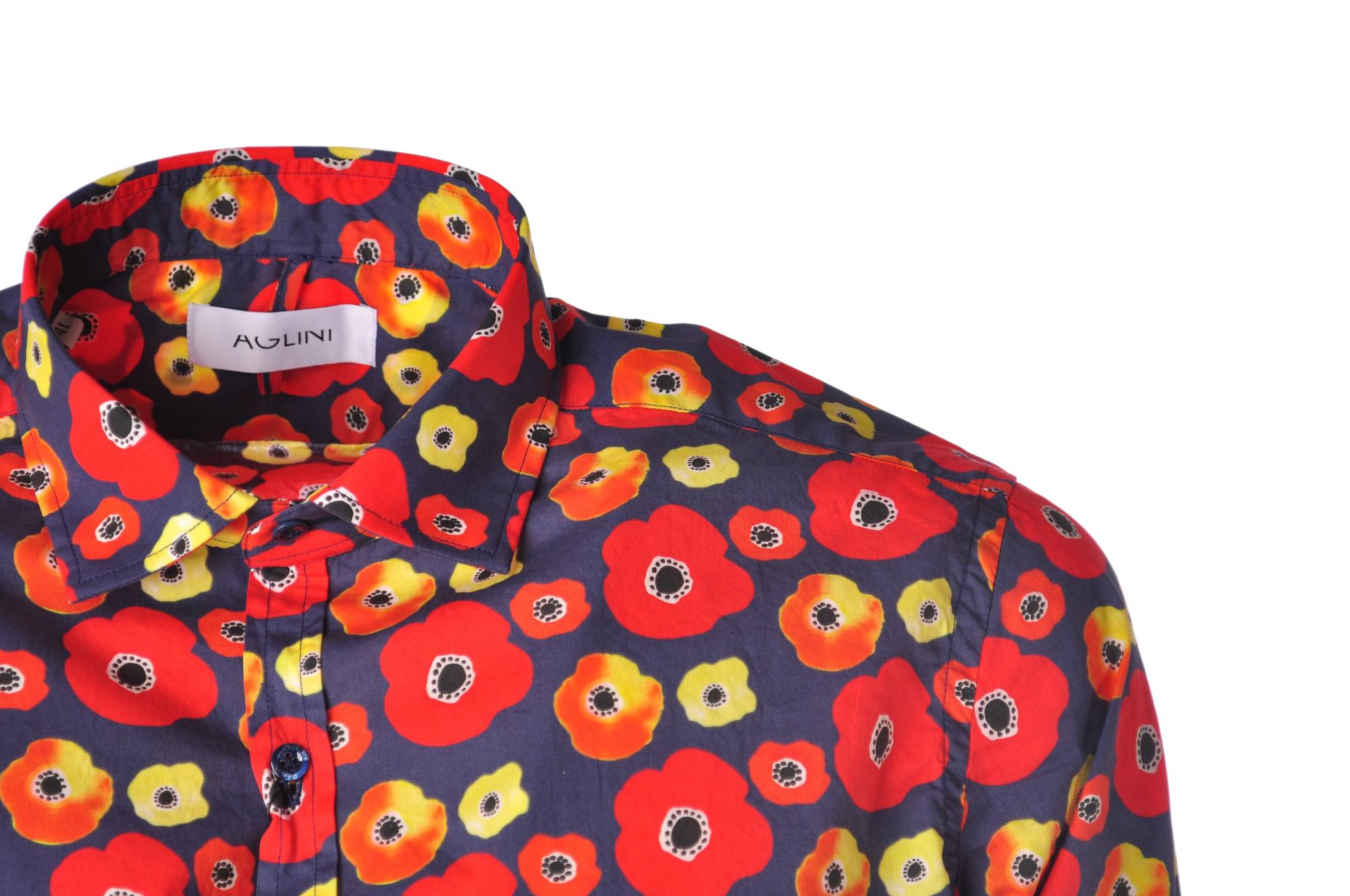 """Aglini """"camicia fantasia fiori"""" Camicia"""