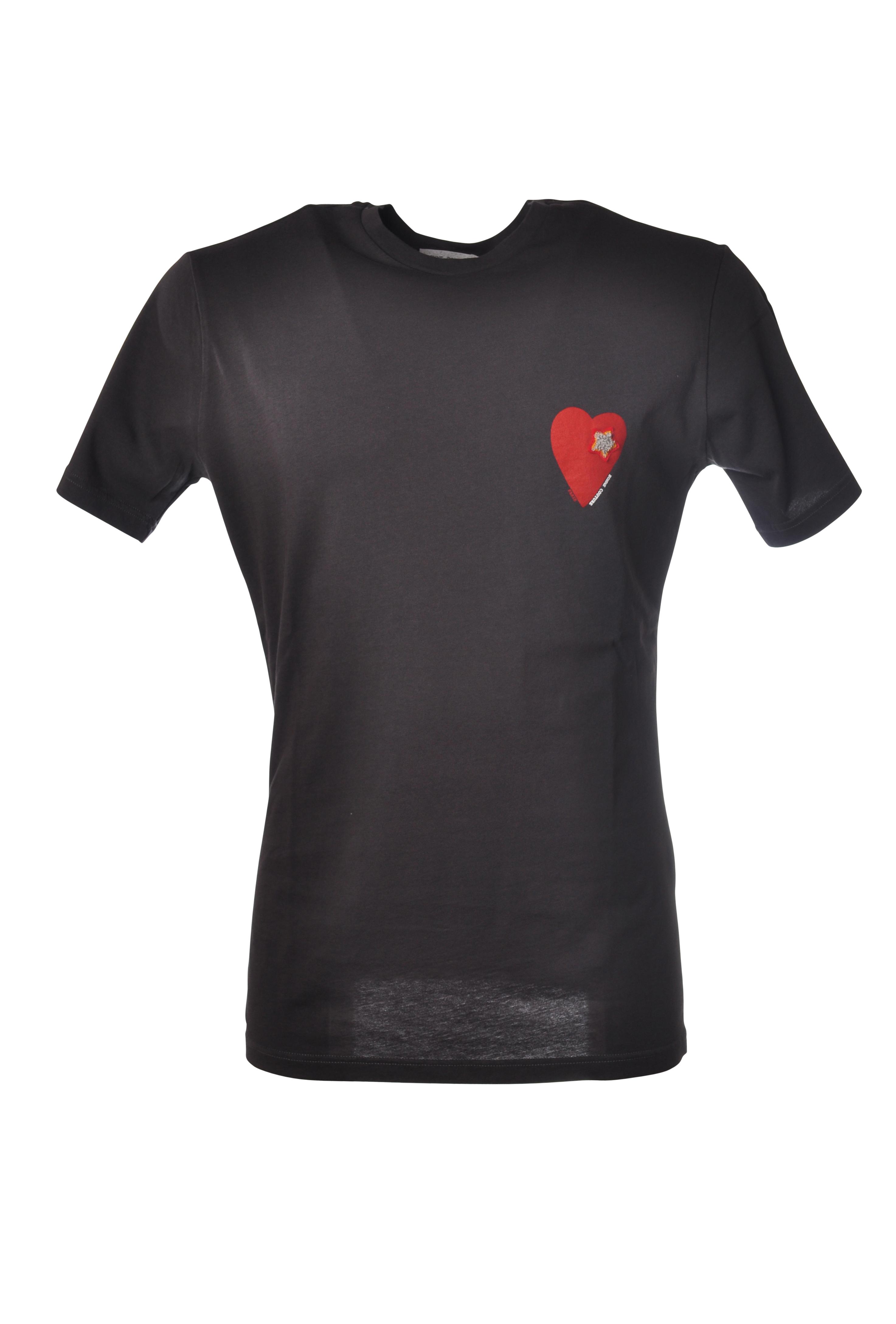 Daniele Alessandrini - Topwear-T-shirts - Mann - grey - 5288407C194511