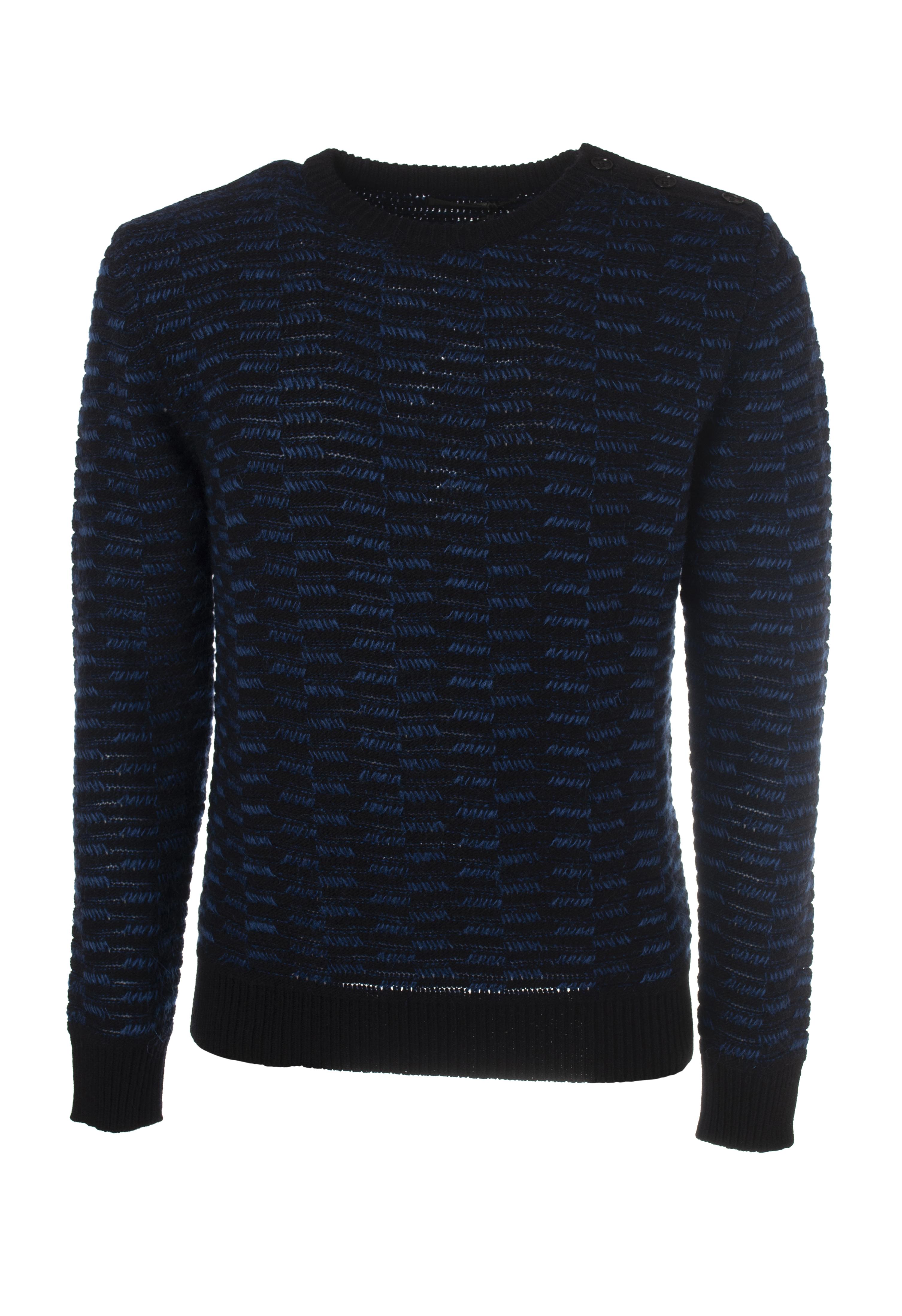 Daniele Alessandrini - Knitwear-Sweaters - Man - bluee - 5797525N181117