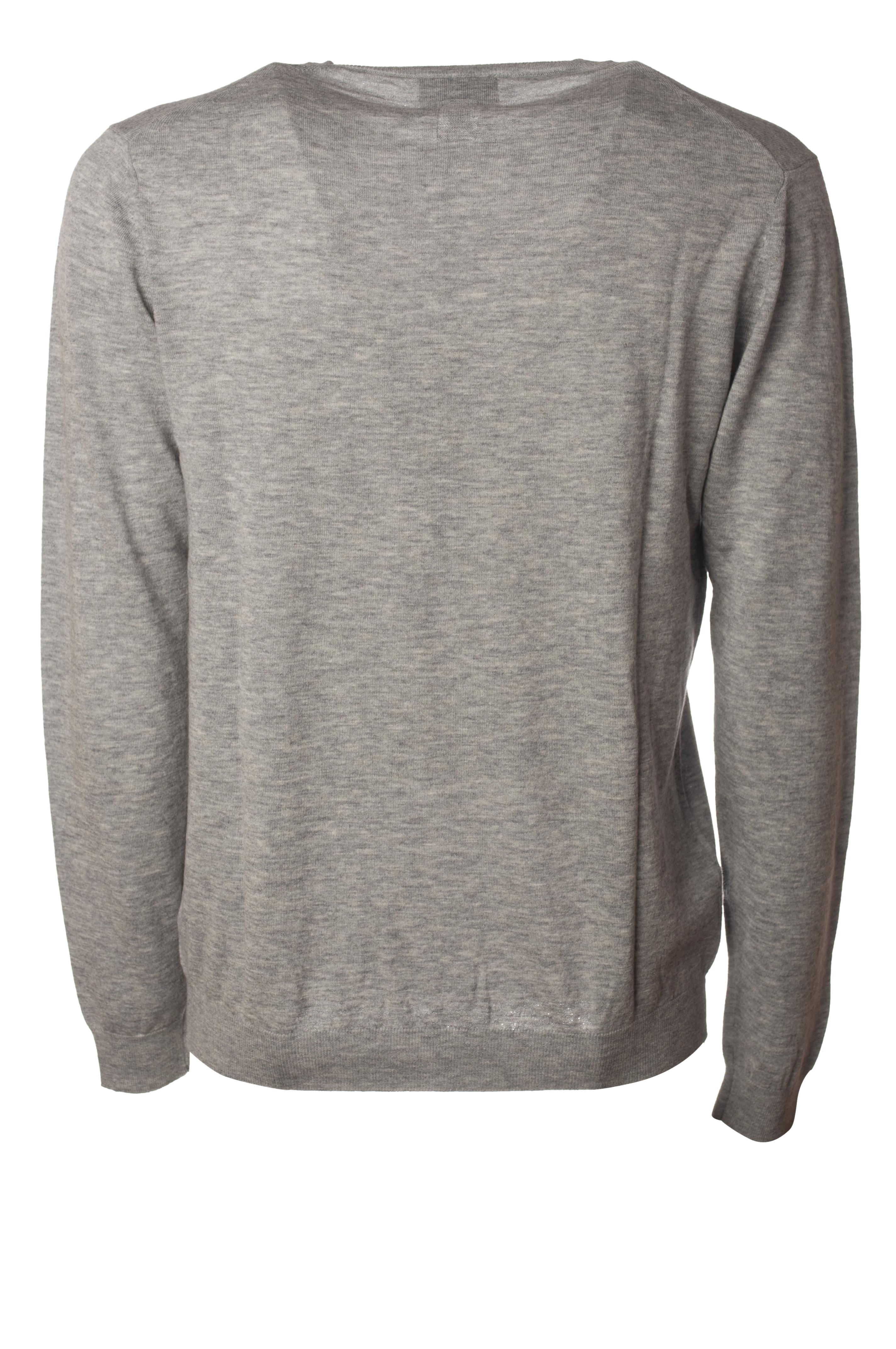 Man 5836402m183339 Grey sweaters Knitwear Diktat PxvR0aR