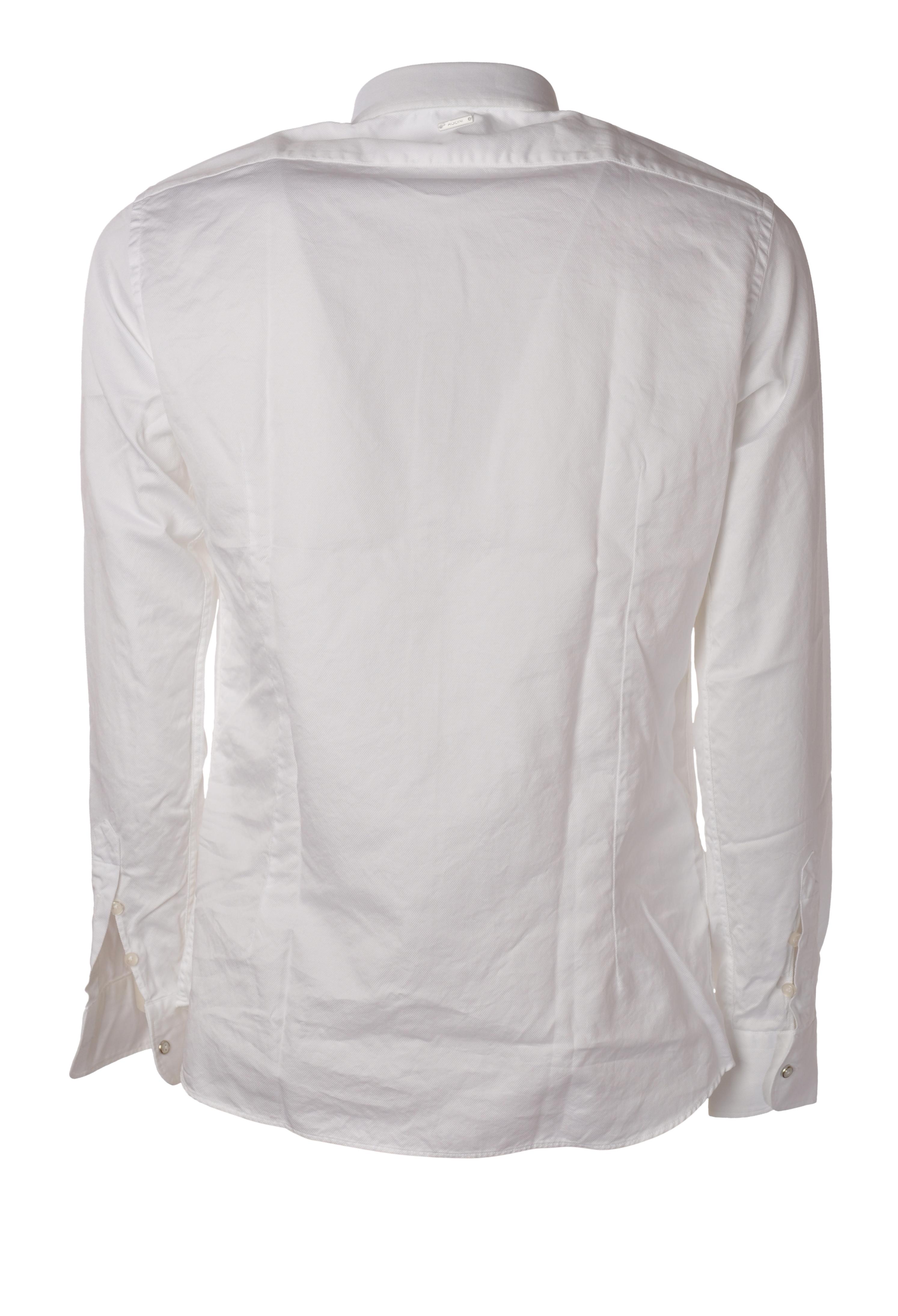 """Aglini """"camicia slim tessuto operato"""" Camicia"""