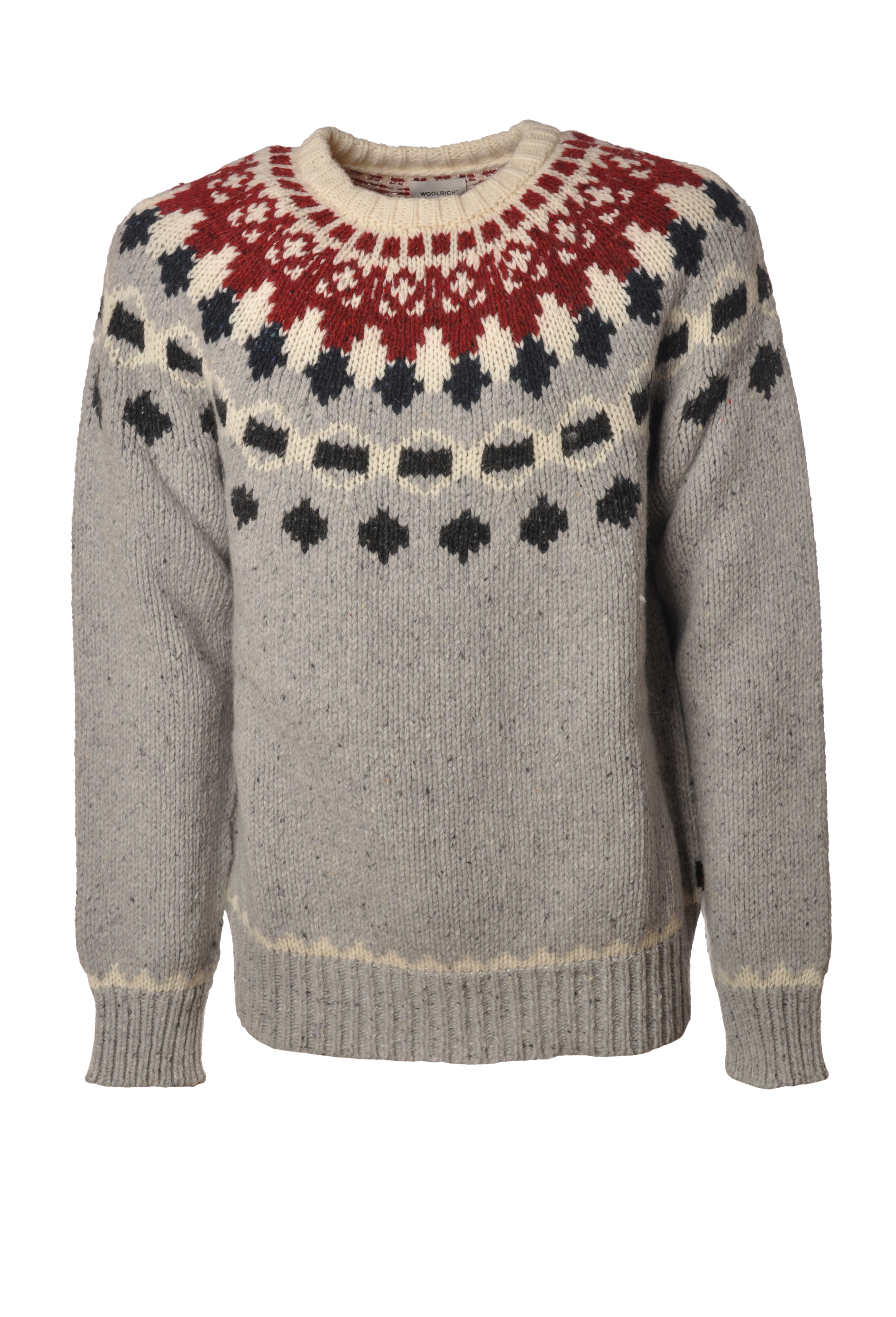 """Woolrich """"NAP WOOL JACQUARD"""" Pullover"""